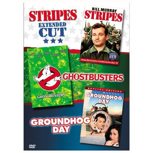Bill Murry Comedies Collection: Ghostbusters / Stripes / Groundhog Day