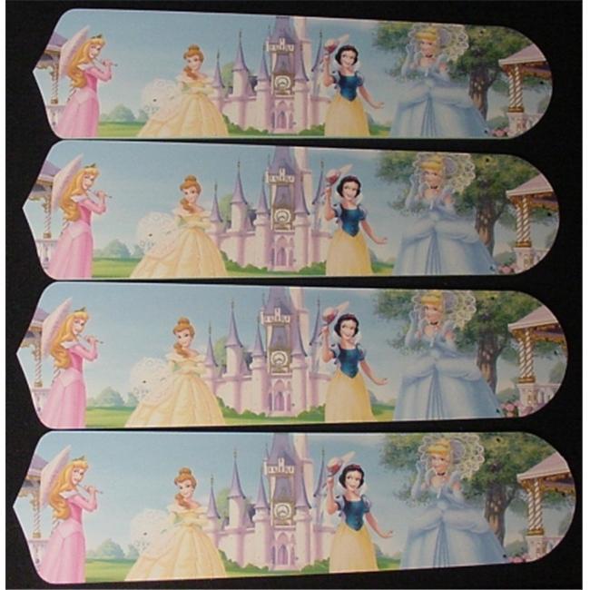 Ceiling Fan Designers 42SET-DIS-PPE Disney Princesses- Ca...