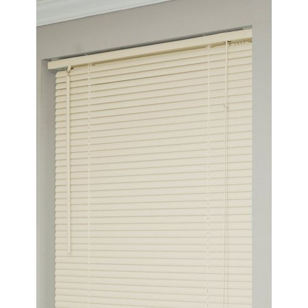 """New 5th Ave Collection Alabaster Vinyl 1"""" Mini Blinds - 32"""" Wide x 64"""" Long"""