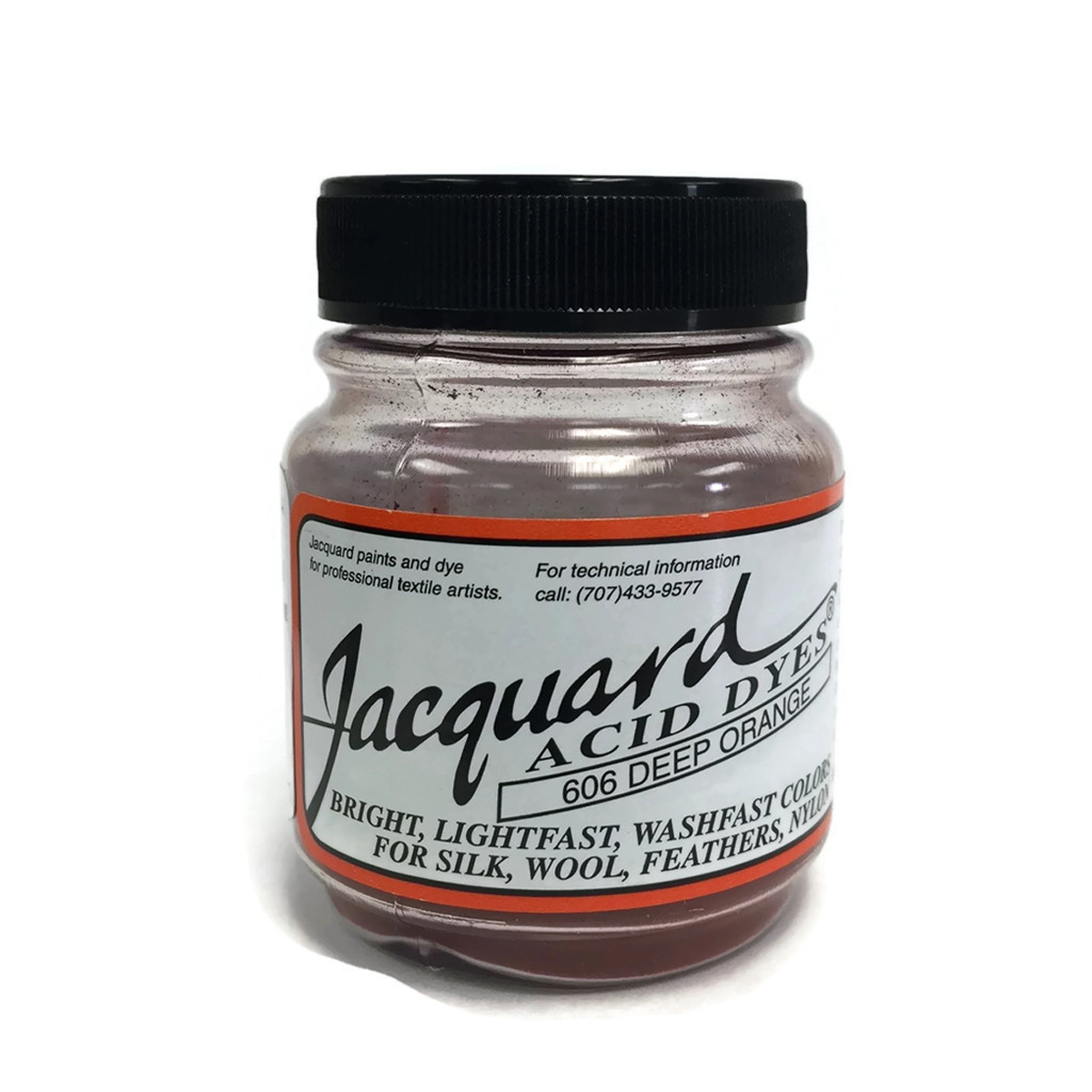 Deep Orange Jacquard Acid Dyes - 1/2 Oz