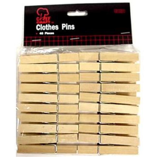 DDI 435578 Clothes Pins Case Of 24