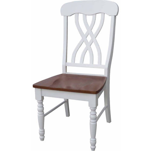 International Concepts Latticeback Chairs, Set of 2, Multiple Finishes