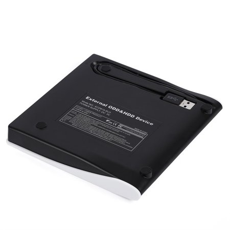 Practical External Hard Drive Box Platic USB3.0 Portable External Interface Hard ODD HDD Drive Box SATA Disc - image 3 de 7