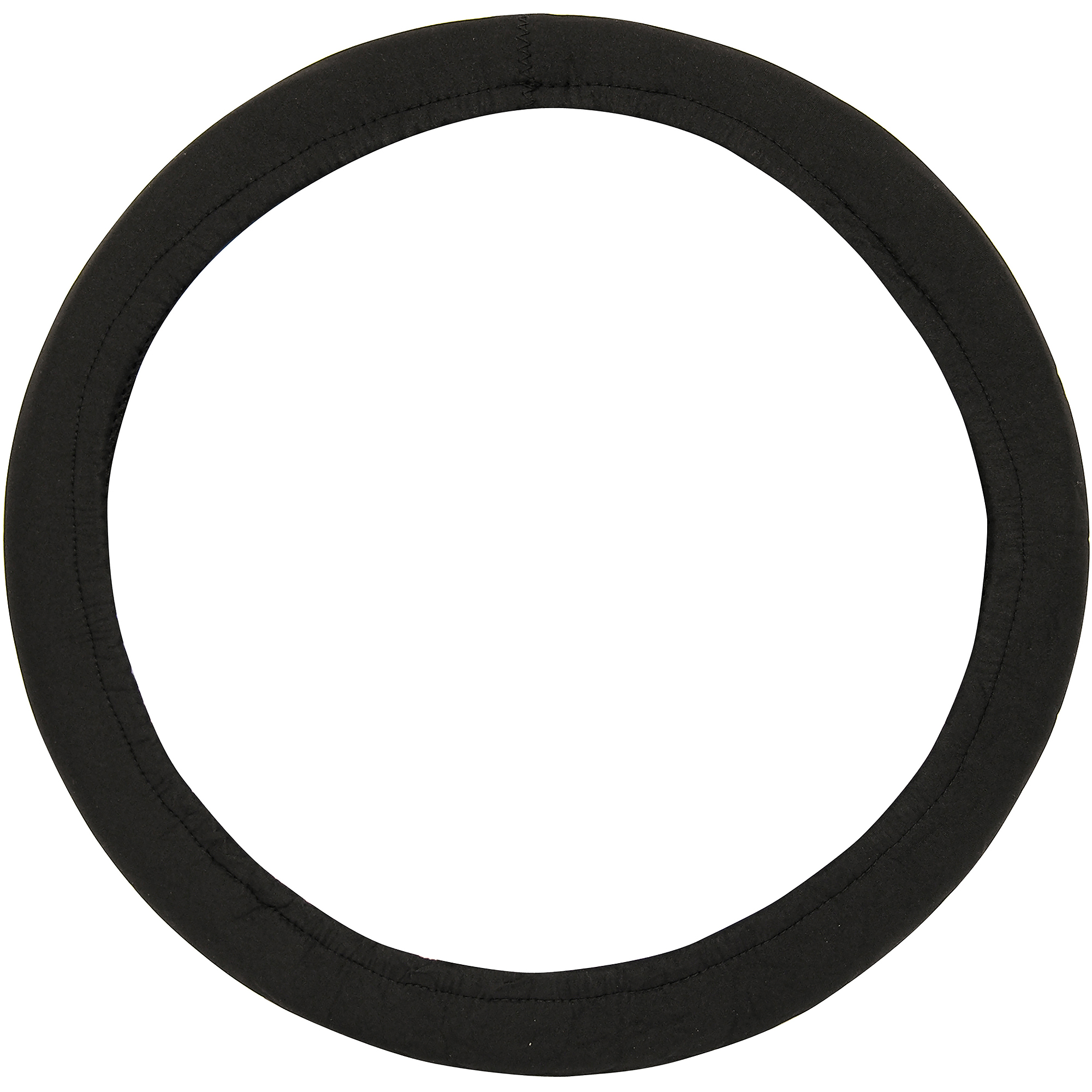 Auto Drive Neoprene Steering Wheel Cover, Black