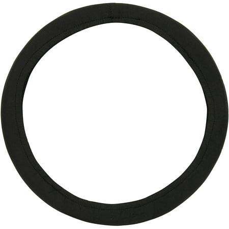 Auto Drive Neoprene Steering Wheel Cover  Black