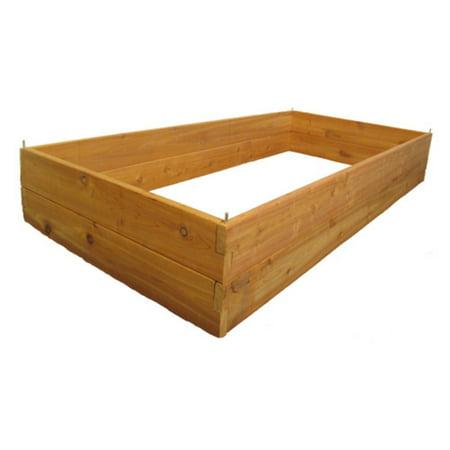 Cedar Slab - Infinite Cedar Raised Garden Bed