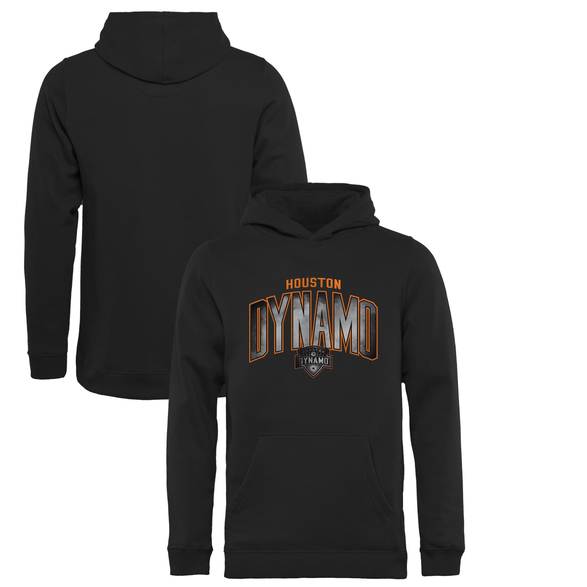 Houston Dynamo Fanatics Branded Youth Arch Smoke Pullover Hoodie - Black