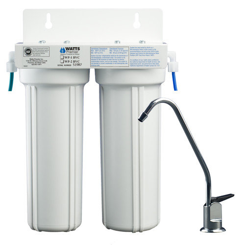 Watts Premier Two Stage LCV Under Counter Water Filter