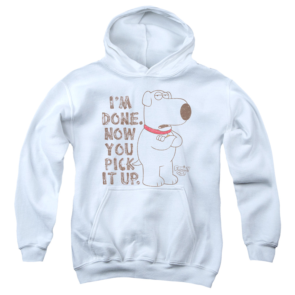 Family Guy Pick It Up Big Boys Pullover Hoodie