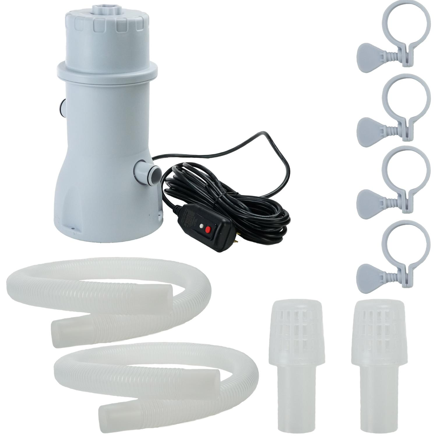 530 Gallon Above Ground Swimming Pool Filter Pump by Pool Central
