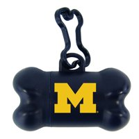 Michigan Wolverines Bone-Shaped Pet Bag Dispenser - No Size