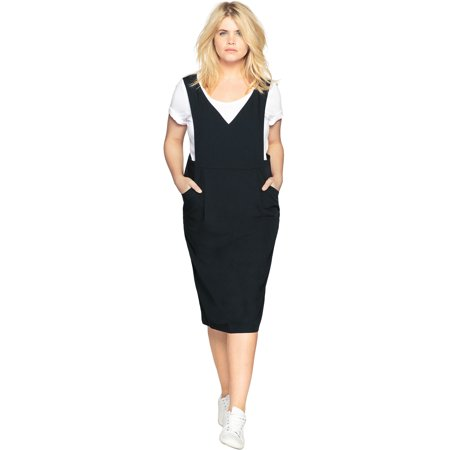 Castaluna - Castaluna Plus Size Jumper Dress - Walmart.com
