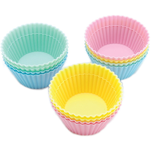 Wilton Silicone Standard Baking Cup Liner, Round 12 ct. 415-9432