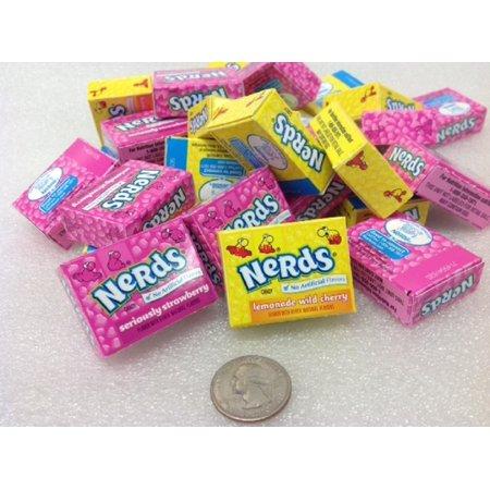 Wonka Nerds (Wonka Nerds mini boxes 1 pound lemonade wild cherry and strawberry)