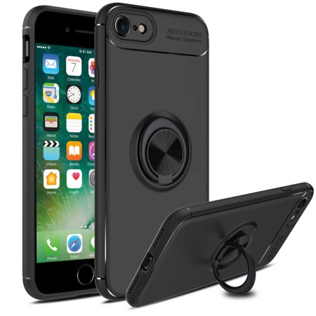 4e9bc966d6f iPhone 8 Case, iPhone 7 Ring Case, 360 Degree Rotatable Ring Stand and Ring