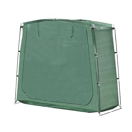 High Supply SS70GR Portable Pop Up Bike Tent Bicycle Storage Shed Weather Resistant Protection Outdoor with Carrying Case 70 X 64 X 30 Inches Green
