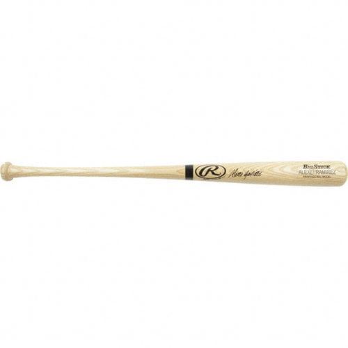 MLB - Alexei Ramirez Autographed Bat | Details: Blonde Name Engraved Signed Big Stick Bat