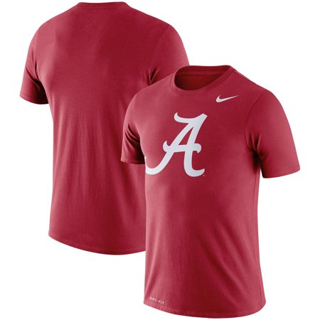 Alabama Crimson Tide Nike Legend Logo Dri-FIT Performance T-Shirt - (Nike Mens Elite Dri Fit Basketball 9 Shorts)