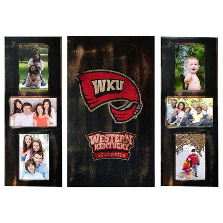 Western Kentucky University Picture Frames Set Wooden Photo Collage Frames