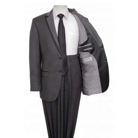 Mens 5 Piece Tuxedo Suits Includes Matching Dress Shirt & Tie By - 40s Outfits