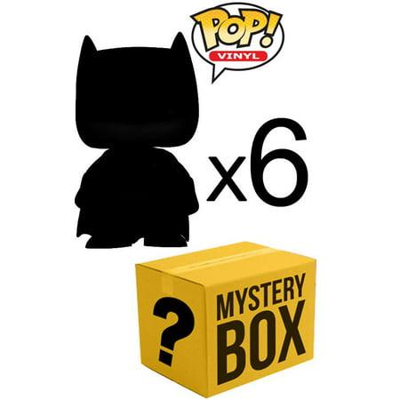 Funko MYSTERY BOX LOT of 6 Funko POP! Vinyl Figures [Completely Random!]