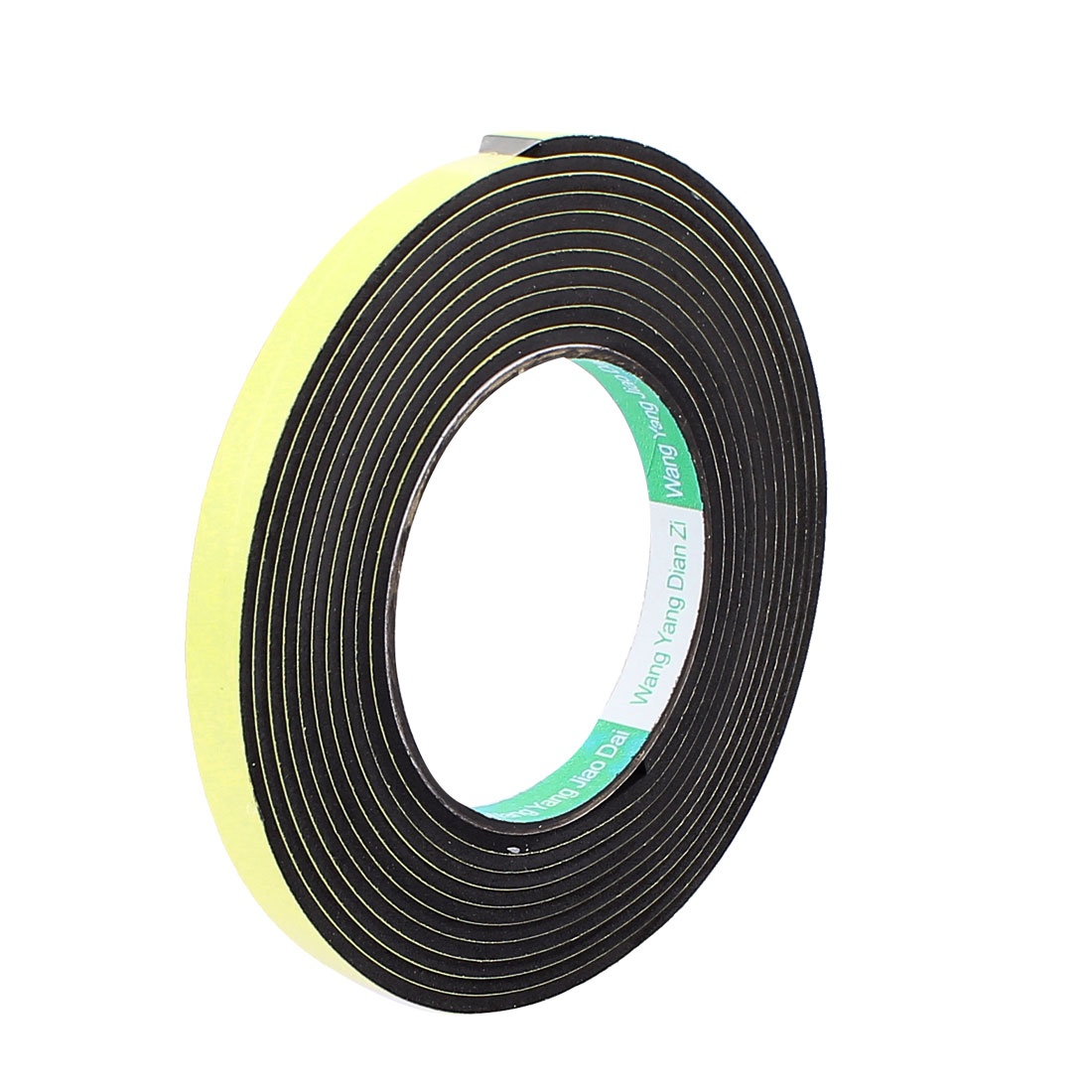 0.8CM Width 4M Long 3MM Thick Single Sided Sealing Shockproof Sponge Tape