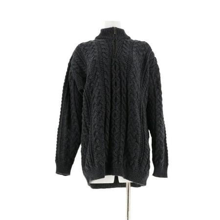 Kilronan Unisex Wool Half Zip Sweater A233359