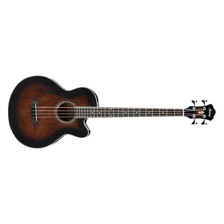 Ibanez AEB10E Acoustic-Electric Bass Guitar (Violin Sunburst)