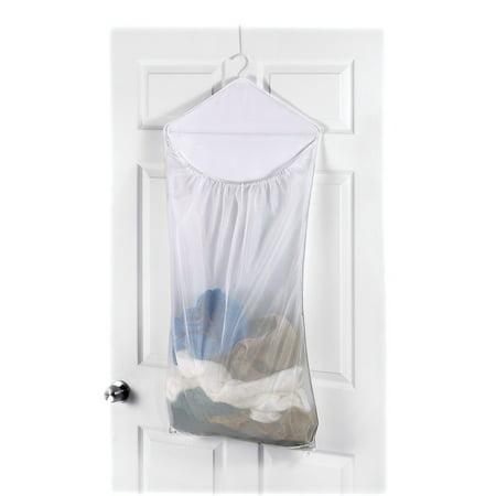 Whitmor Dura-Clean Over the Door Hanging Laundry Hamper White - John Lewis Halloween Hamper