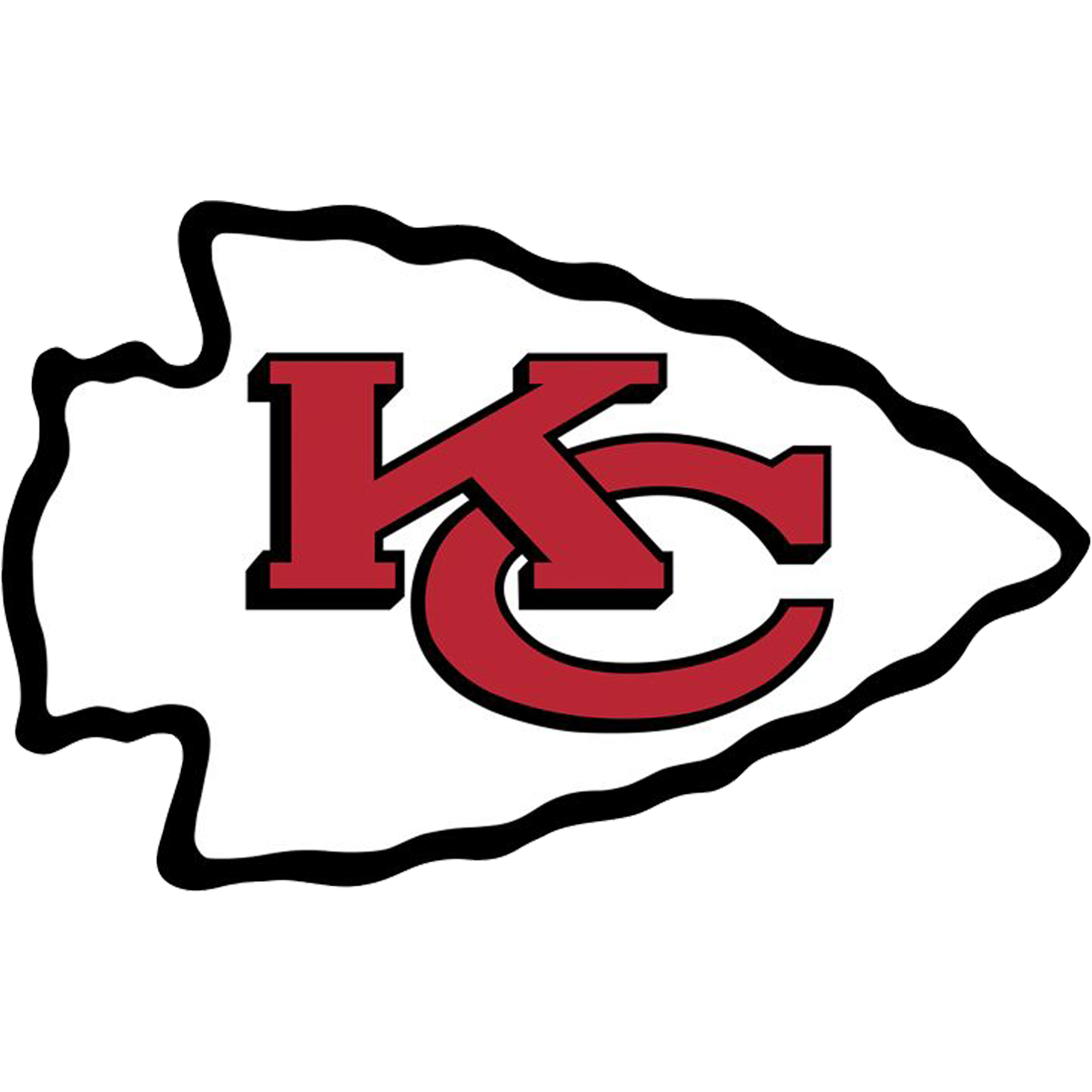Kansas City Chiefs Fathead Giant Removable Decal - No Size