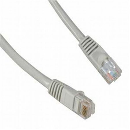 Category 5 Gray Enhanced Patch Cord, 7 ft. Apc Category 5 Enhanced Patch