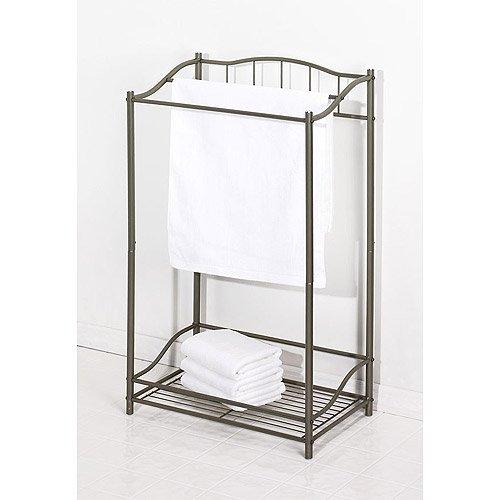Average Height Of Towel Bar In Bathroom: Creative Bath Complete Bath Free Standing Towel Rack