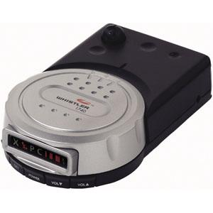 whistler radar detector with voice