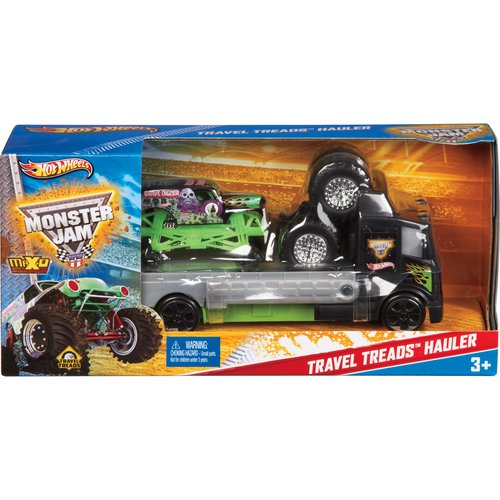 Hot Wheels Travel Treads Monster Jam Vehicle Assort
