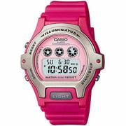 Women's Digital Watch, Pink Resin Strap