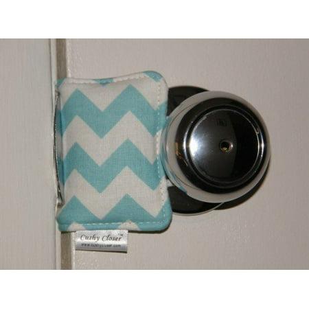 Cushy Dots (Cushy Closer 100-513 Door Cushion in Natural Solid)