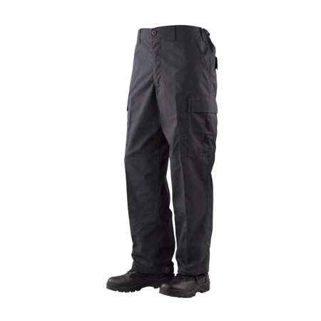 Gen-1 Police BDU Trousers Black 65/35 Poly, Cotton Rip-Stop, 3XL