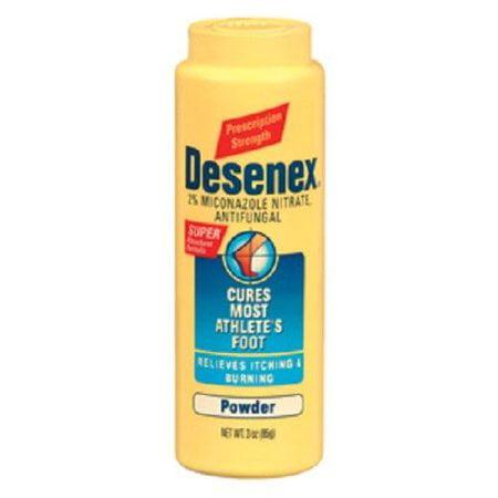 Desenex 2% Miconazole Nitrate, Antifungal Powder, 3 (Miconazole Nitrate 2% Antifungal)
