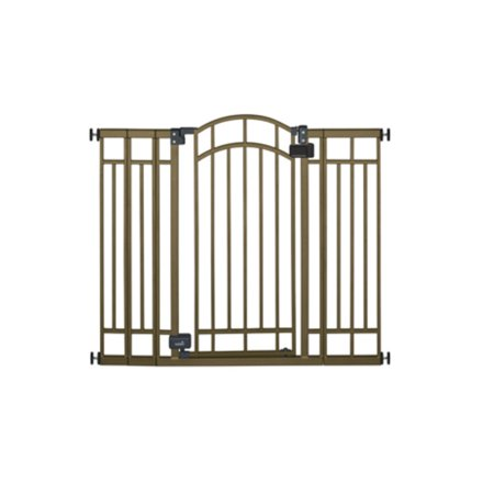 "Best Home Safe Extra Tall Walk Through Decorative Baby Gate, 28""-48"" deal"