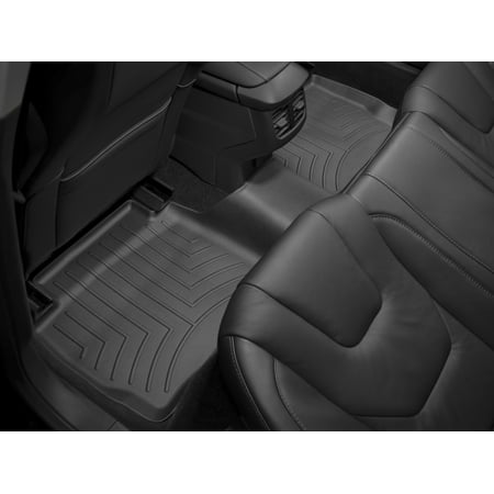 WeatherTech 11+ Dodge Durango Rear FloorLiner - Black 1500 Weathertech Rear Floor