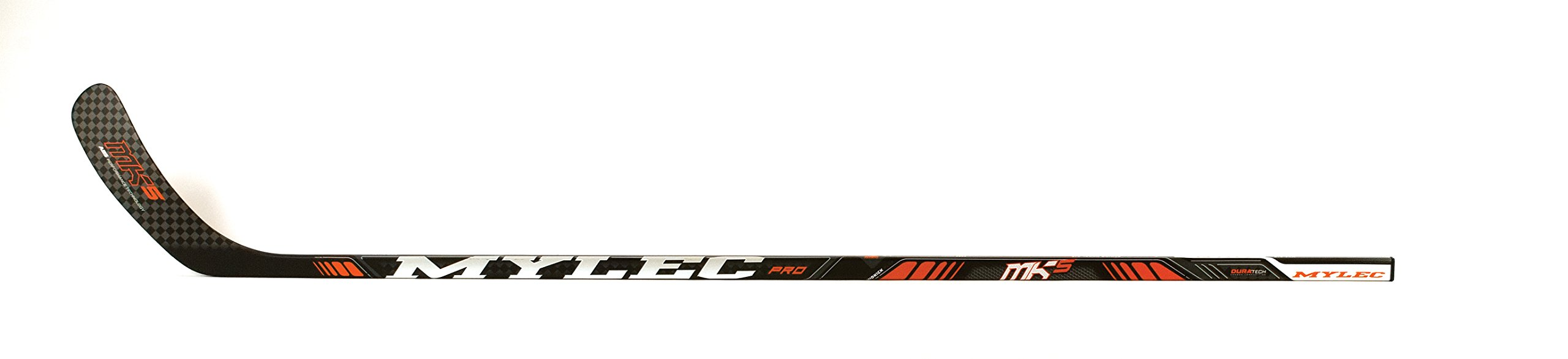 Mylec Nk5 Hockey Stick N61 Curve Left Hand MK5 Hockey Stick, Black by Myles