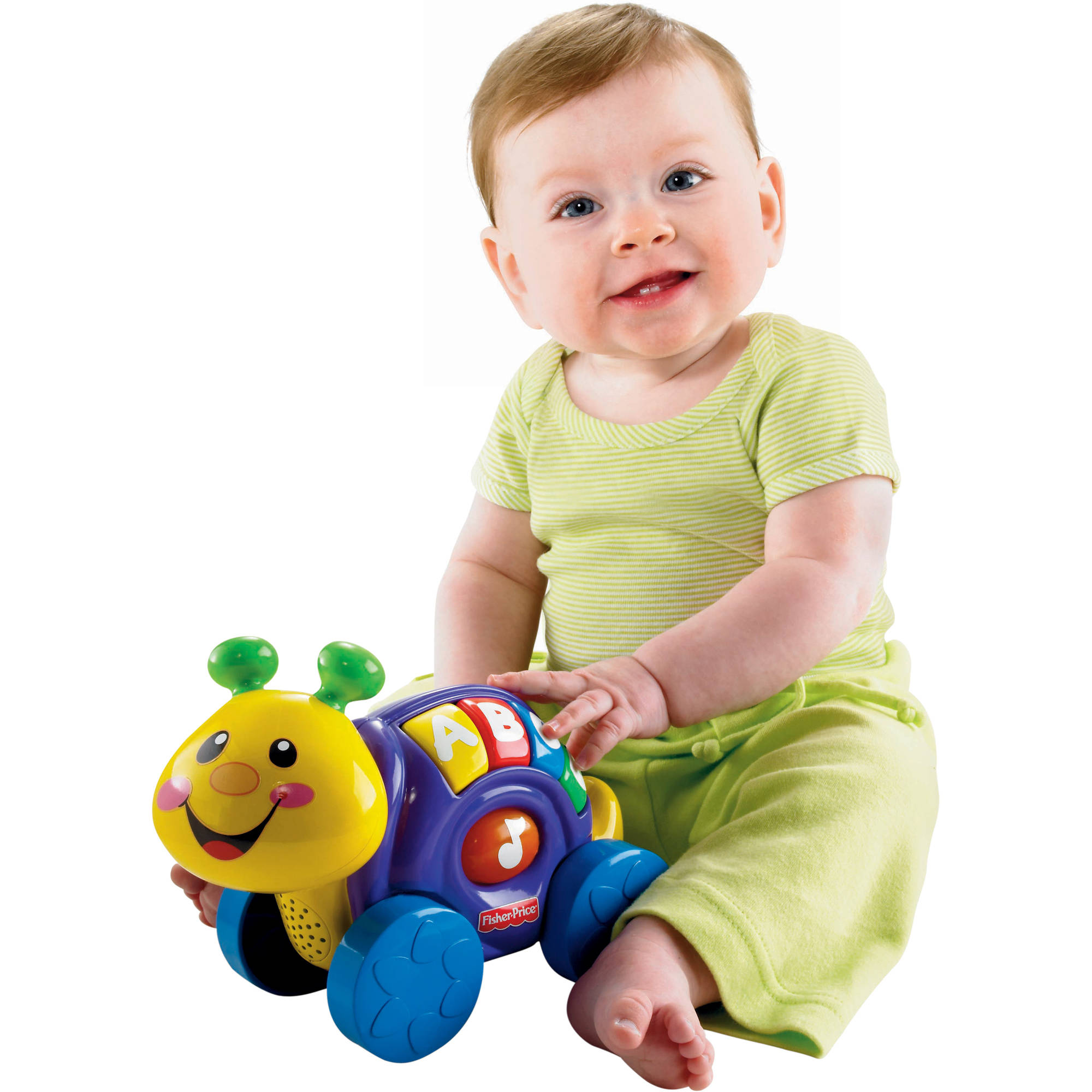 Fisher Price Roll-along Snail by Fisher-Price