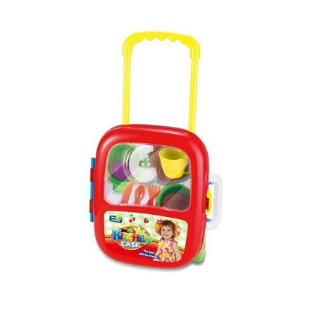Lightahead 174 Children 8217 S Kitchen Play Set With 10 Accessories