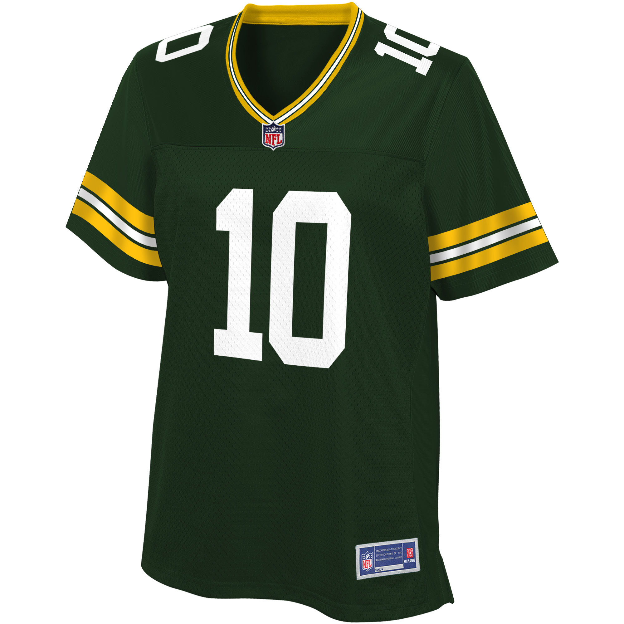 NFL Pro Line Women's Green Bay Packers DeAngelo Yancey DS Green Home Player Jersey