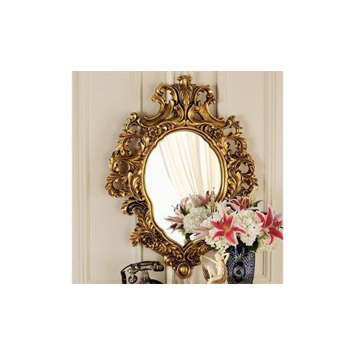 Design Toscano KY24 Madame Antoinette Salon Wall Mirror