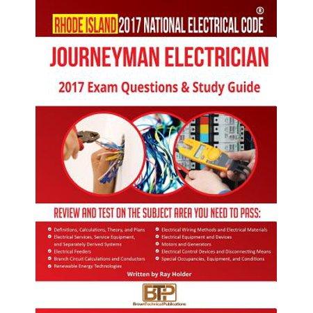 Rhode Island 2017 Journeyman Electrician Study Guide