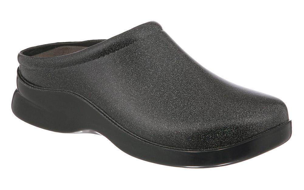 Klogs Dusty Unisex Clogs - Black Shimmer