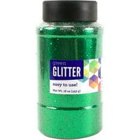 Horizon Group USA Green Glitter Paint, 16 Oz., 1 Each