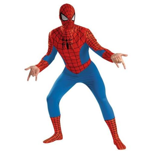Costumes For All Occasions DG50185C Spider-Man Deluxe Adult 50-52