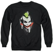 Arkham City Spraypaint Smile Mens Crewneck Sweatshirt